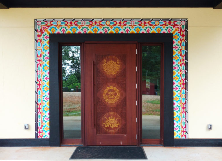 Patterned Door