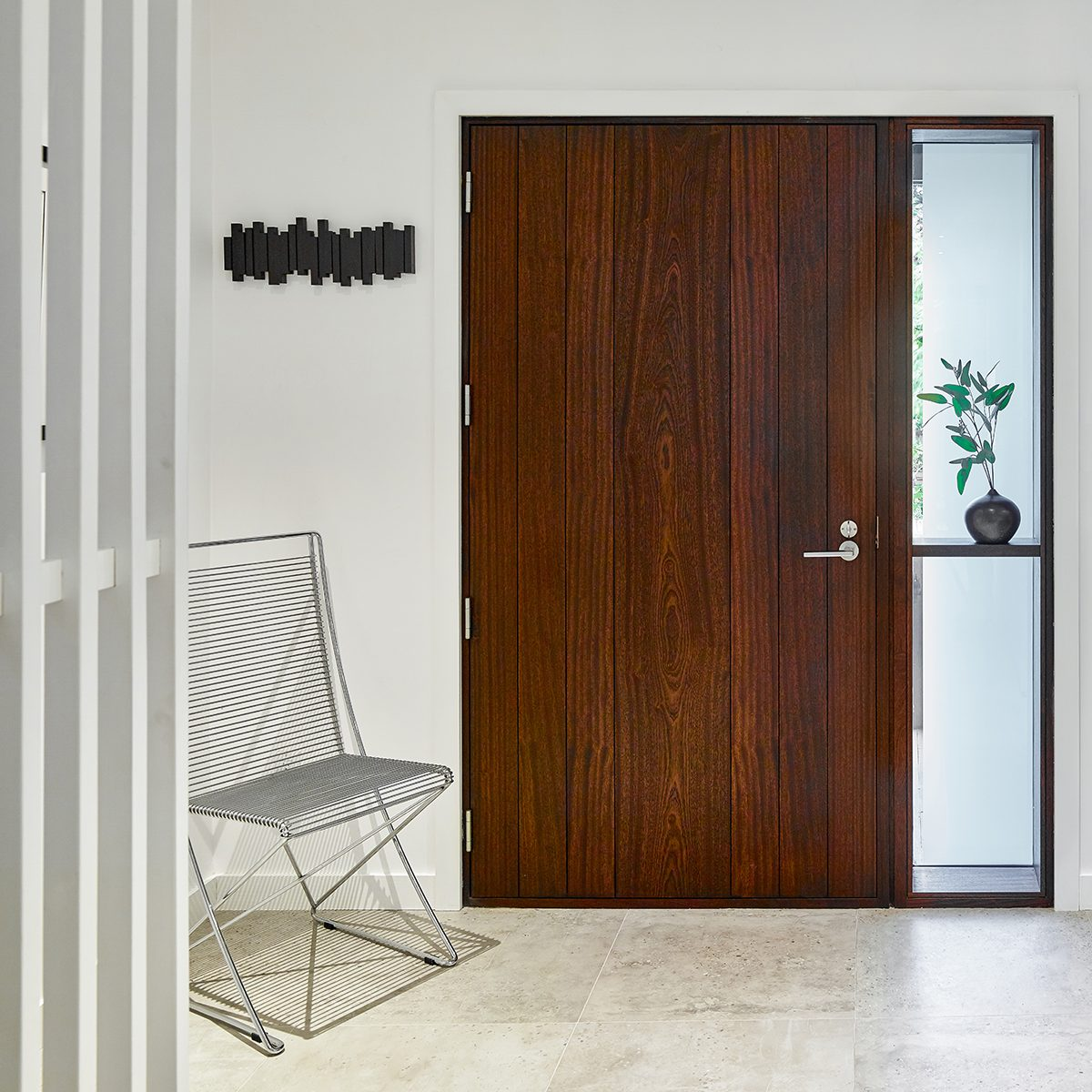 V Plank Door